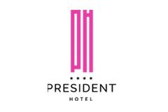 YO2 Designs President Hotel Logo
