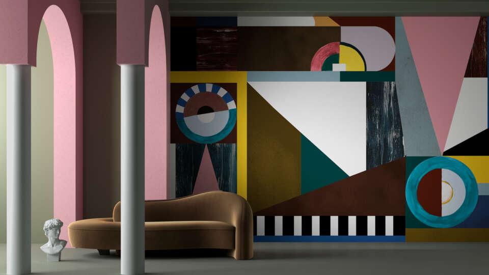 modernisme wallpaper by Rachel Altabas